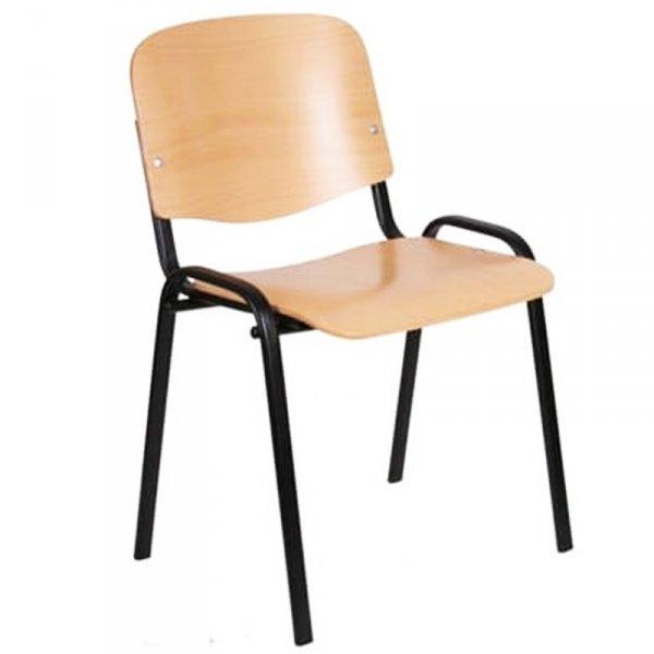 krzesło szkolne iso, krzesło iso, krzesło iso ze sklejką, krzesło iso wood, krzesło konferencyjne iso