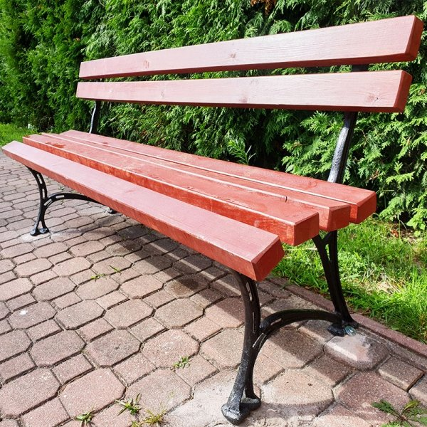 ławka ogrodowa, ławka parkowa, ławka na plac zabaw, ławka do parku, ławka do szkoły, ławka na szkolny plac zabaw, ławka z  żeliwa, ławka żeliwna