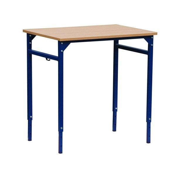 ławka szkolna leon z regulacją wysokości 1-osobowa, ławka szkolna, ławka leon, ławka z regulacją, stół szkolny, stół szkolny żak, stół szkolny z regulacją wysokości