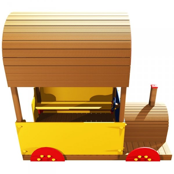 pociąg na plac zabaw, lokomotywa na plac zabaw, lokomotywa drewniana, lokomotywa plac zabaw, domek na plac zabaw, domek do ogrodu, domki ogrodowe, domki dla dzieci