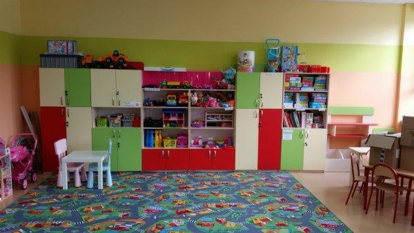 kolorowe szafki, meble przedszkolne, meble przedszkolne, regał przedszkolny, regał do przedszkola, meble do sali