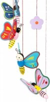 SMALL FOOT Mobile Butterflies - karuzela z motylkami