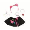 Baby Born Spódniczka Tiulowa Czarna dla laleczki 43cm