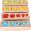 SMALL FOOT Wild Colours Puzzle Game - Gra Logiczna
