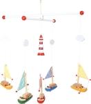 SMALL FOOT Mobile Sailboat and Lighthouse - karuzela ze statkami