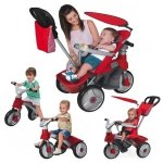 FEBER Rowerek Trójkołowy Biegowy 4w1 Baby Trike