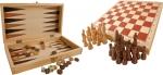 SMALL FOOT  Zestaw Gier 4w1 szachy, warcaby, kości i tryktrak