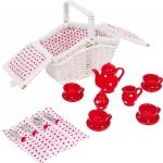 SMALL FOOT Mini Kosz Piknikowy - zabawka dla dziecka