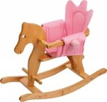 SMALL FOOT Rocking Horse with Saddle - konik na biegunach z siodełkiem