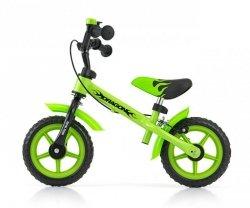Milly Mally Rowerek biegowy Dragon z hamulcem green (0170)