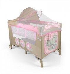 Milly Mally Łóżeczko Mirage Deluxe Pink Toys (0282, Milly Mally)