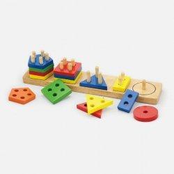 Viga 58558 Klocki z sorterem kształtów - figury geometryczne