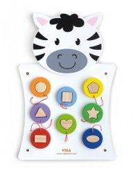 Viga 50681 Tablica manipulacyjna - Zebra