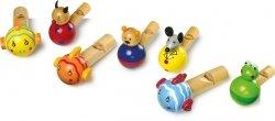 SMALL FOOT  Gwizdki dla dziecka ze zwierzątkiem (7szt.)