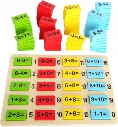 SMALL FOOT Matematyka dla Najmłodszych - zabawka układanka dla dzieci