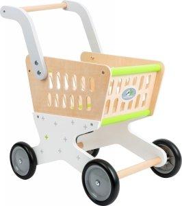 SMALL FOOT Drewniany Wózek na zakupy dla dziecka 'Trend'