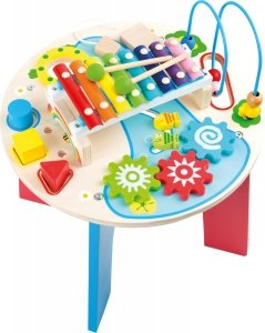 SMALL FOOT 2 in 1 Motor Skills Trainer and Music Table - stolik motoryczno - muzyczny