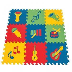 WOOPIE Piankowa Mata Edukacyjna Instrumenty