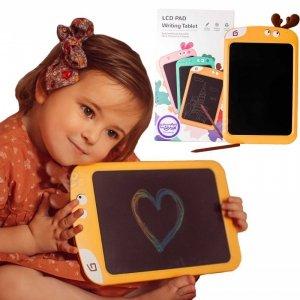WOOPIE Tablet Graficzny 10.5' Łoś dla Dzieci do Rysowania Znikopis + Rysik