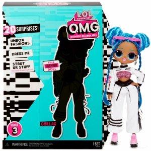 L.O.L. Surprise OMG Core Doll- AA- Chillax Lalka Fashion