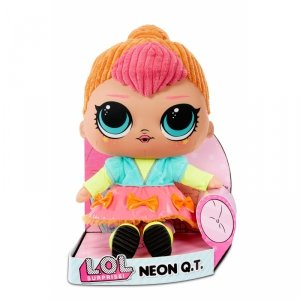 L.O.L Pluszowa Lalka Maskotka Neon QT Przytulanka