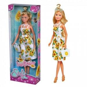 SIMBA Lalka Steffi w słonecznikowej sukience