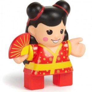 Little Tikes Figurka Gejsza Klocki Wafle