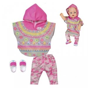 Baby Born Ubranko Ponczo i Spodenki dla Lalki 43 cm