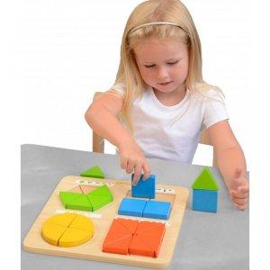 Zabawa W Budowanie Figur Geometrycznych Masterkidz
