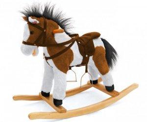 Koń Łatek ciemny brąz