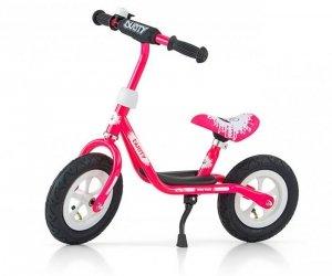 Rowerek Biegowy Dusty 10 Pink-White