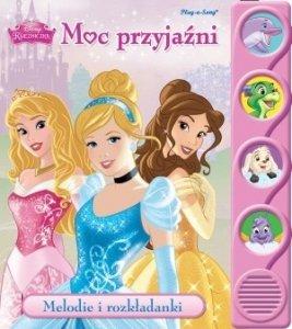 KS32 Disney Księżniczka. Moc przyjaźni. Melodie i rozkładanki