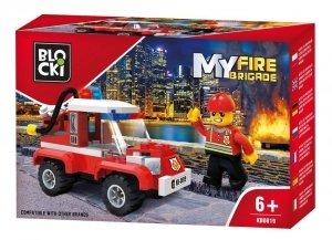 Klocki Blocki MyFireBrigade Wóz gaśniczy 84 el.