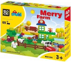 Klocki BLOCKI MUBI Merry Farm 69el.