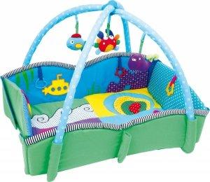 SMALL FOOT Baby Blanket Pulpino - mata edukacyjna dla niemowląt