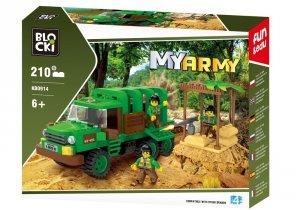 Klocki Blocki MyArmy Akcja w dżungli 210 el.