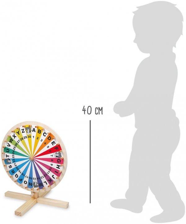 SMALL FOOT Koło Fortuny - zabawka dla dziecka
