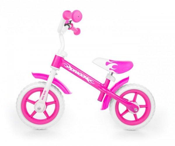 Milly Mally Rowerek Biegowy Dragon pink (0121)