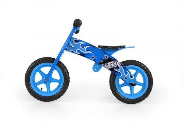 Milly Mally Rowerek Biegowy Flip Blue (0299)