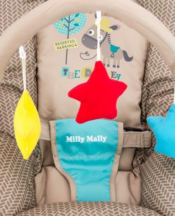 Milly Mally Leżaczek Milly Khaki Cow (0468, Milly Mally)