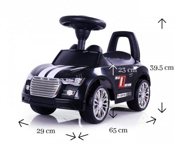 Milly Mally Pojazd Racer Black (0977, Milly Mally)