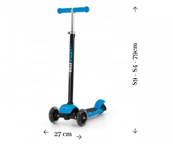 Scooter Little Star Blue (1595, Milly Mally)