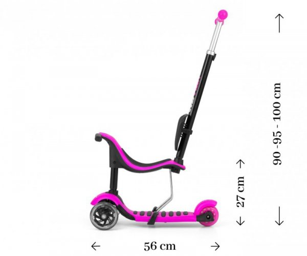 Scooter Little Star Pink (1597, Milly Mally)