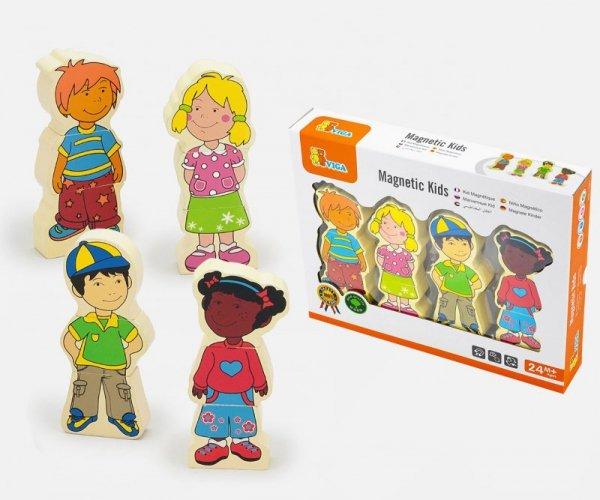 Viga 59699 Figurki magnetyczne - dzieci