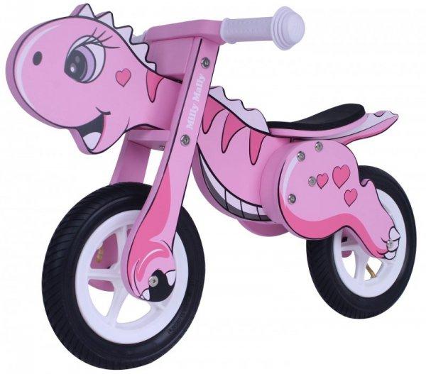 Rowerek Biegowy Dino Mini Pink (2444, Milly Mally)