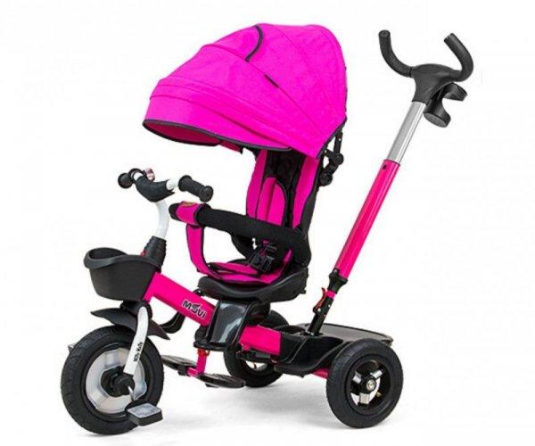 Rowerek Trójkołowy Movi Pink