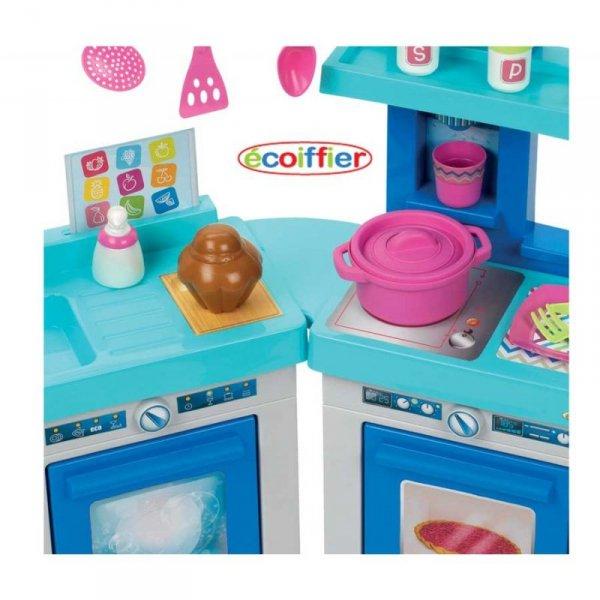 Ecoiffier Kuchnia Modułowa 21 elementów