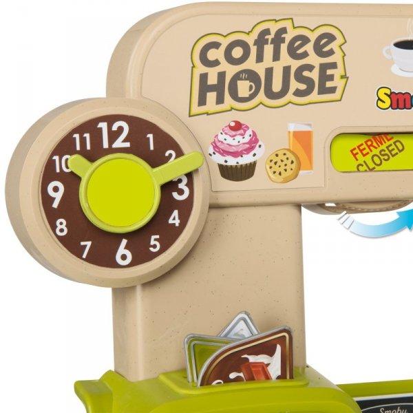 Smoby Kawiarenka Coffee House Cukiernia 63 akc.