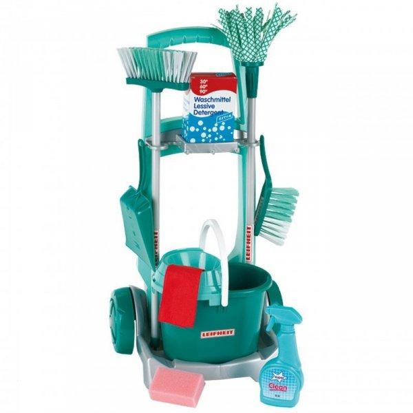 Klein Wózek z akcesoriami do sprzątania Leifheit