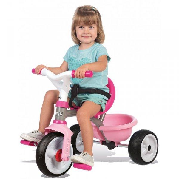 Smoby Rowerek Trzykołowy Be Move Pop Różowy